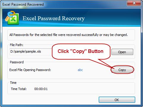 password recuperata